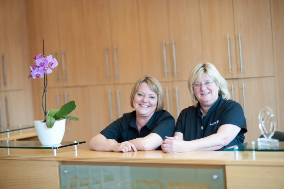 The Reception Team at Epsom Dental